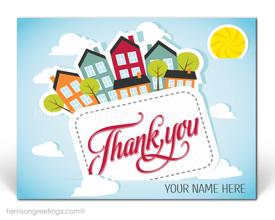 Client Thank You Postcards for Realtors