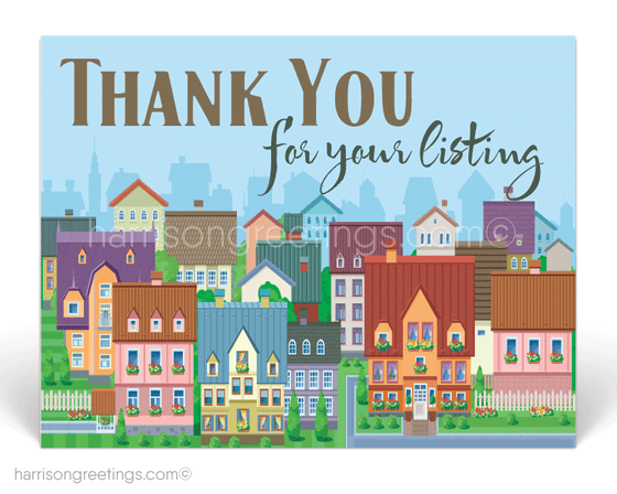 Thank You Client Postcards for Realtors