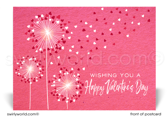 Professional Business Happy Valentine's Day Postcards