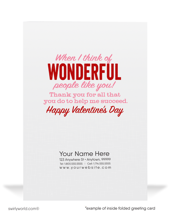 Cute Business Happy Valentine's Day Cards For Women