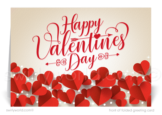 Client Professional Valentine's Day Cards for Business