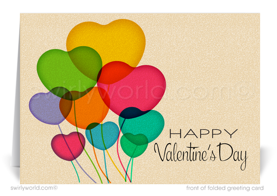 Customer Happy Valentine's Day Cards for Business