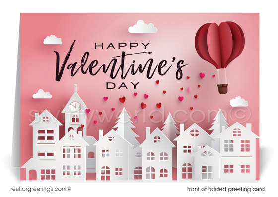 Cute Happy Valentine's Day Cards for Realtors®