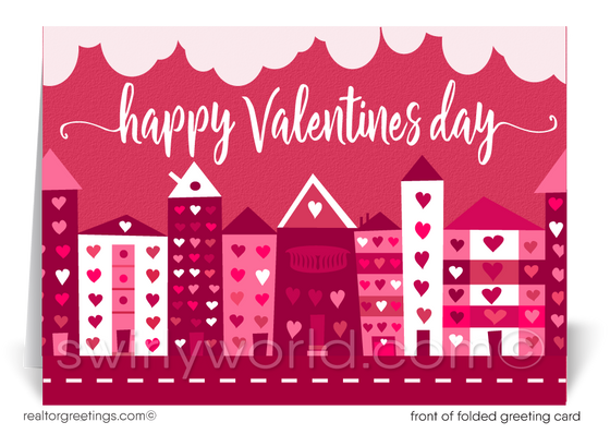 Cute Client Happy Valentine's Day Cards for Realtors®