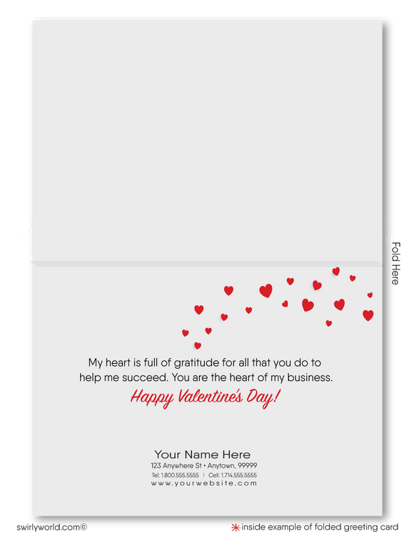 Client Retro Happy Valentine's Day Cards for Realtors®