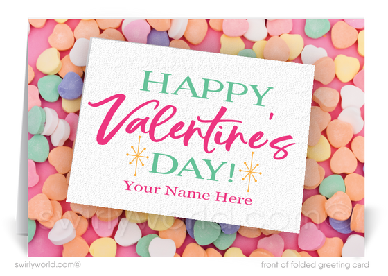 Professional Business Valentine's Day Cards for Clients
