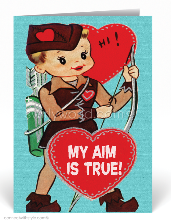 1950's Retro Vintage Valentine's Day Cards