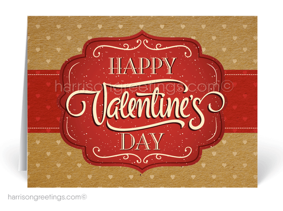 Corporate Valentine's Day Cards for Clients