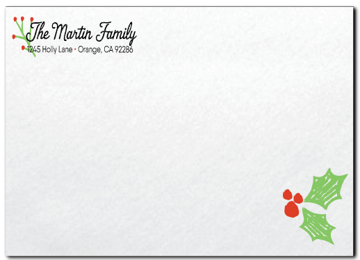 Eat, Drink, and Be Merry Holiday Christmas Dinner Party Invitations