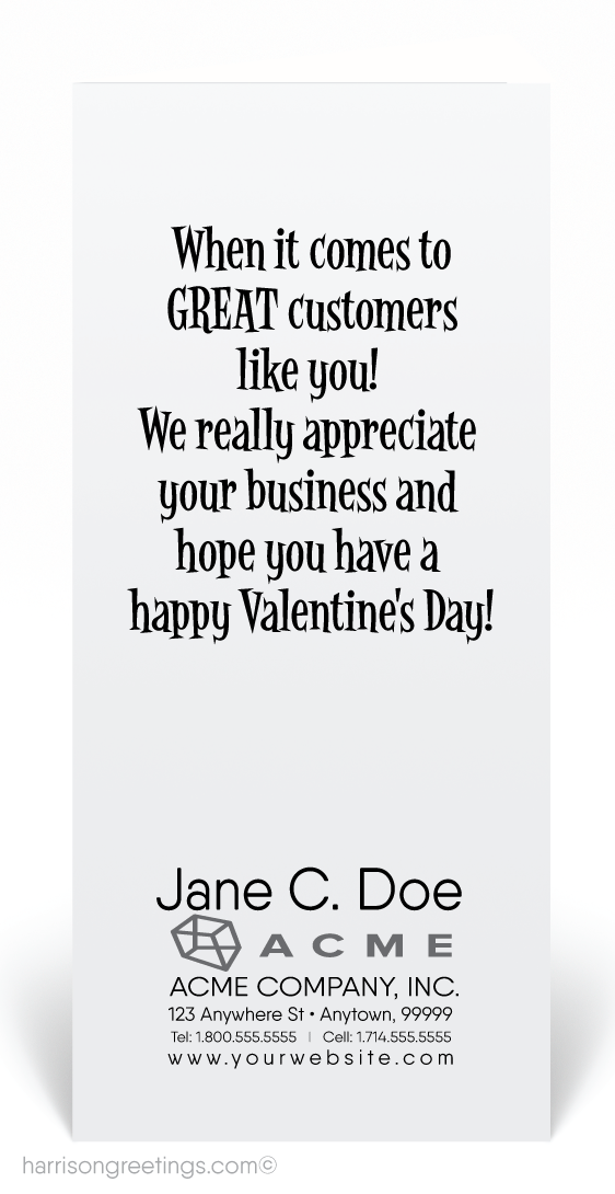 Business Valentine's Day Greeting
