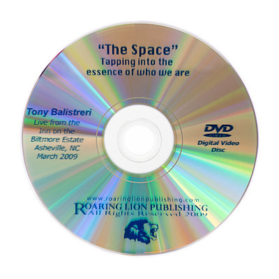 The Space DVD Video - or Instant Download