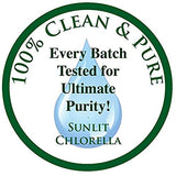 Chlorella Spirulina 50/50 (Mega-Pack 1000) Cracked Cell Wall, 100% Pure & Clean, Organic Raw, Non-GMO, Green Superfood, Protien Packed, Anti-inflammatory, by Sunlit, Best Green Organics.