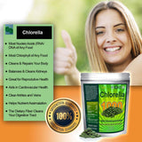 Chlorella Tablets Mega-Pack 1000 Tablets Cracked Cell, Organic, Raw, Non-GMO. 100% Pure Chlorella Pyrensoidosa. Green Superfood. High Protein, Chlorophyll, Nucleic acids. No Preservatives or Fillers!