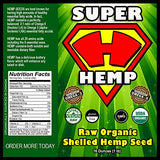 Super Hemp - Premium Raw Organic Protein Packed!