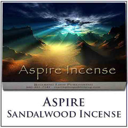 Aspire Incense Large - Contains 60 Sticks and Small Size Contains 12 Sticks