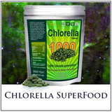 Chlorella Superfood 1000 Tablets, Protein Packed, Anti-inflammatory!