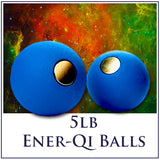 5lb Magnetic Ener-Qi Balls (One Pair) - Course Available On DVD or Instant Download