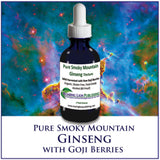 Ginseng from the Smoky Mountains, Wild, Raw and Mixed with Wild Goji Berries!