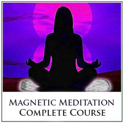 Complete Magnetic Meditation Course - Learn to Meditate with Powerful Magnets - Instant Download!