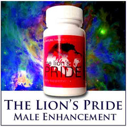 The Lion's PRIDE Male Enhancement Supplement