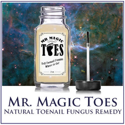Mr Magic Toes - All Natural Toenail Fungus Remedy!