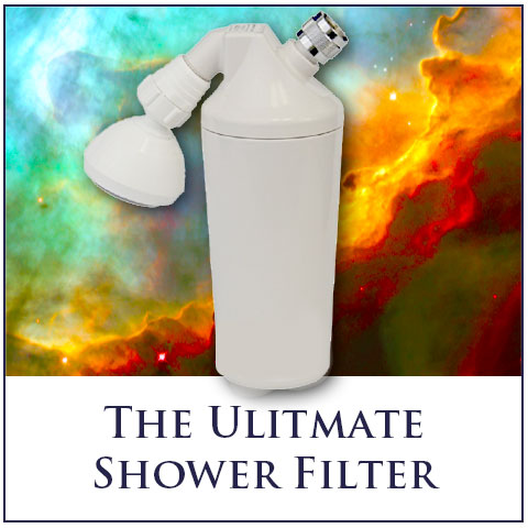 Shower Filter with Far Infrared and Magnetic Filtration! - Installs in 5 Minutes!