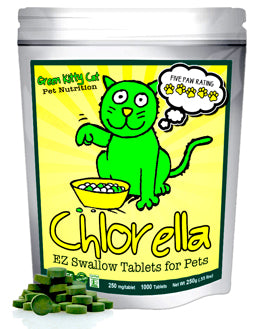Green Kitty-Catfood - New Chlorella SuperFood for Cats!