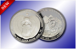 100 x 1oz Silver Rounds - PLEASE CALL FOR AVAILABLE INVENTORY