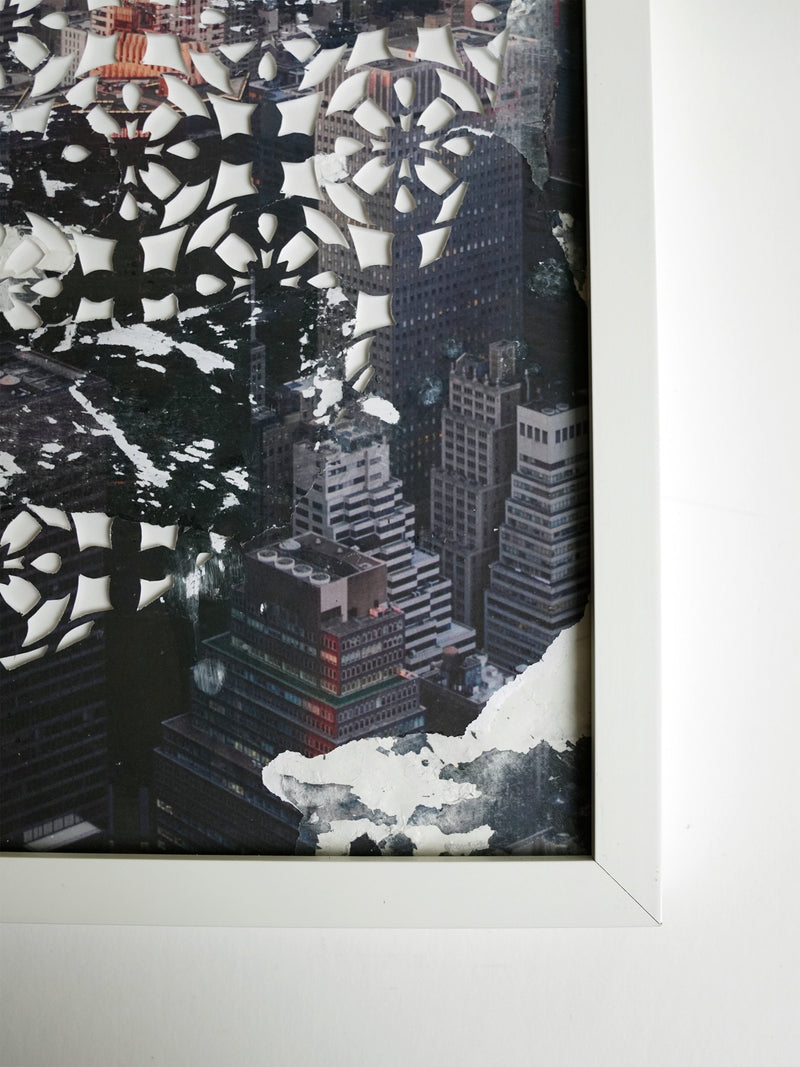Cityscape 1 Original Artwork (Framed)