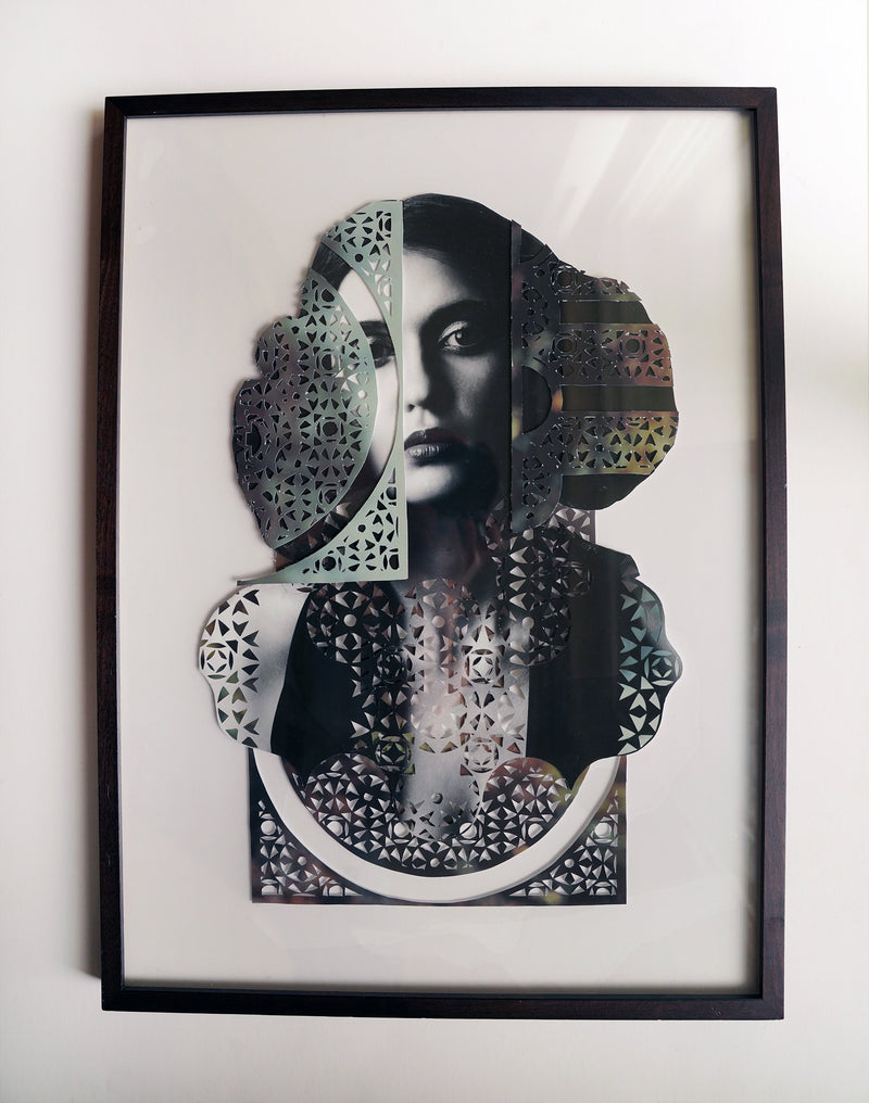 An Allusion to Kells Book Original Artwork (Framed)