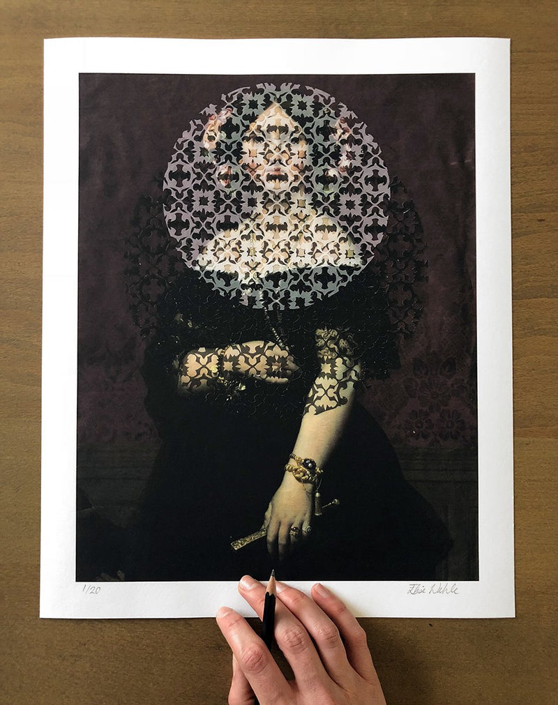 Veils 2 Limited Edition Print