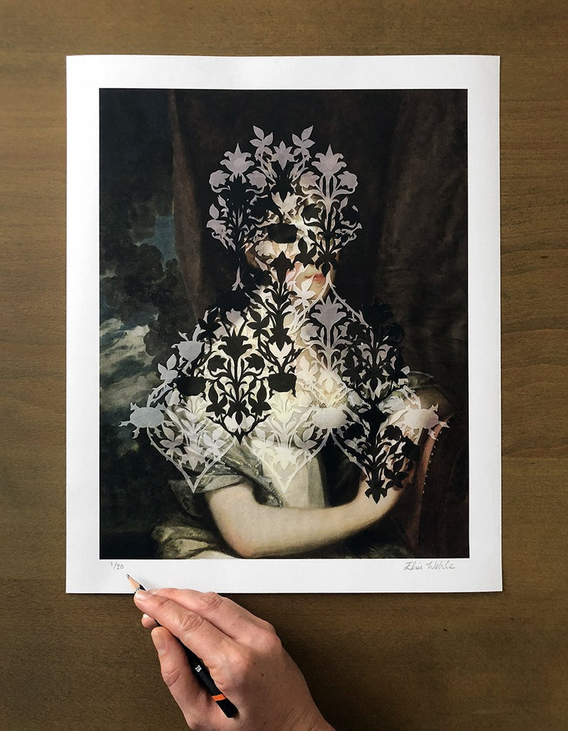 Veils 3 Limited Edition Print