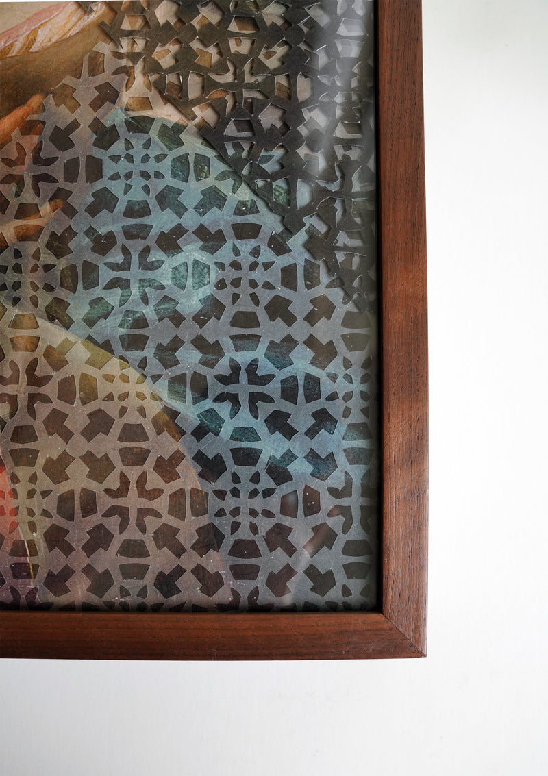 Veils 5 Original Artwork (Framed)