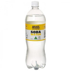 Black & Gold Soda Water 1.25L