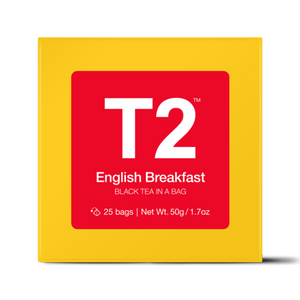 T2 - 25 Pack - English Breakfast