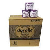 Durelle Toilet Tissue Individually Wrapped 3 Ply - Box of 48