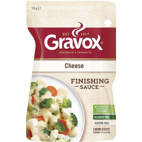 Gravox Finishing Sauce Cheese 165g