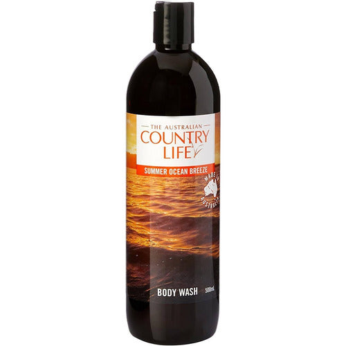 Country Life Body Wash Summer Ocean Breeze 500ml