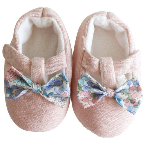 Bow Booties Liberty Blue