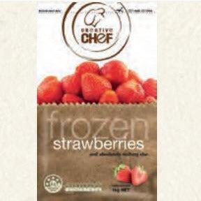 Frozen Strawberries IQF 1kg