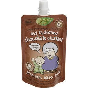 Rafferty's Garden Custard 6 Mths+ 120gms - Old Fashioned Chocolate