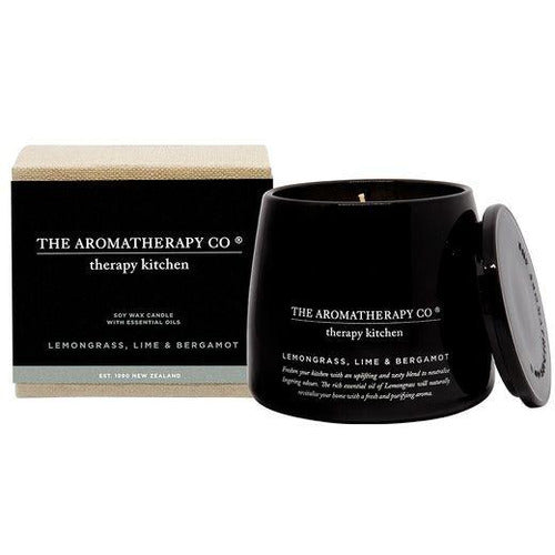 Therapy Kitchen Candle - Lemongrass, Lime & Bergamot