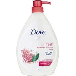 Dove Body Wash Rejuvenating Pomegranate and Lemon Verbena 1L