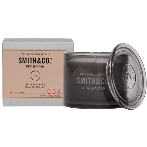 Smith & Co Mini Candle - Fig & Ginger Lily