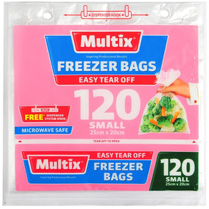 Multix Tear Off Freezer Bags - Small 120
