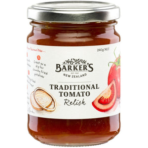 Barkers Traditional Tomato Relish 240g