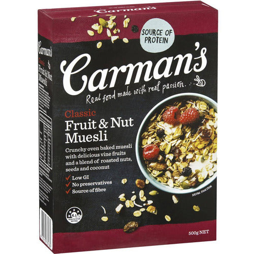 Carmans Muesli 500g - Fruit