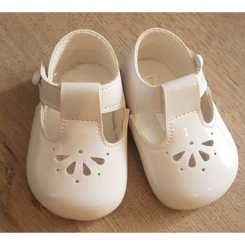 Baypods Baby TBar Flower Punch Shoe