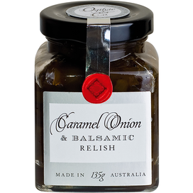 Caramel Onion & Balsamic Relish 135g