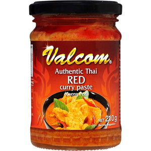 Valcom Paste Thai Red Curry 210g